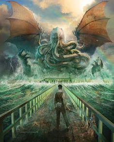 Cthulhu Art, Lovecraft Cthulhu, Hp Lovecraft, Larp, Call Of Cthulhu Game, Lovecraftian Horror, Eldritch Horror, Image Painting, Fantasy Illustration