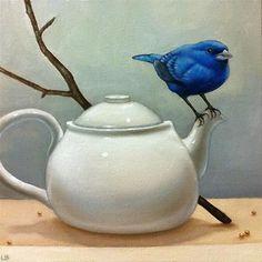 renardiere:  Indigo Tea - by Larisa Brechun