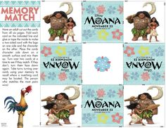 Moana Coloring Pages and Activity Sheets for kids are here for you! Moana and Maui, Pua the pig, Hei Hei the chicken, and other Moana friends! Disney Printables, Free Printables, Moana Theme Birthday, Birthday Parties, Birthday Celebrations, 8th Birthday, Birthday Ideas, Moana Coloring Sheets, Moana Crafts