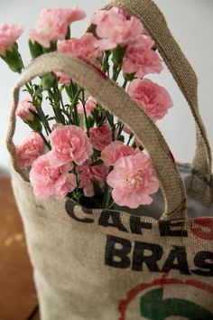 Coffee sack bag / Coffee bag tote