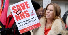The real trouble is the Tories Don't Care #savethenhs Doctors, nurses and members of the public will call with one voice for the Government to reverse £20billion savings ministers are demanding by 2020