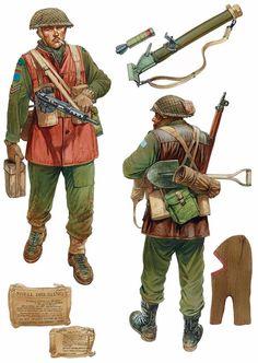 WW2 British, North-West Europe.