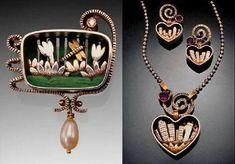 Heart Jewelry, Metal Jewelry, Rock Stars, Diy Ideas, Jewellery, Jewels, Bracelets, Jewerly, Schmuck