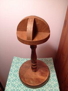 Vintage Wooden Hat Stand