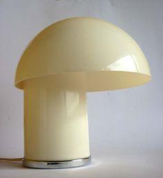 Leila Longato Lampada Tavolo Design Anni 60 70 Modernariato Table Lamp Space AGE