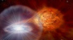 Observan, por primera vez, la titánica explosión de una nova