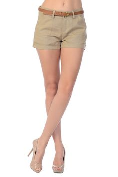 ****Double Button Closure Linen Cargo Shorts**** Khaki also available in Light Blue, Black Navy and Vermillion  – Jubilee Couture #linenshorts #shorts #summer