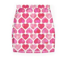 'Ruby Hearts' Mini Skirt by daisy-beatrice Heart Canvas, Crazy Outfits, Engagement Gifts, Heart Shapes, Gifts For Women, Daisy, Mini Skirts, Canvas Prints, Unique