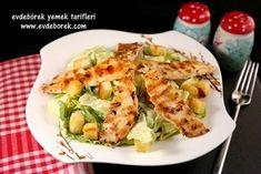 Tavuklu Sezar Salata Tarifi nasıl yapılır? Pratik yöntemlerle anlattığımız bu tarifin yapılışını Evdeborek yemek tarifleri ile deneyin.