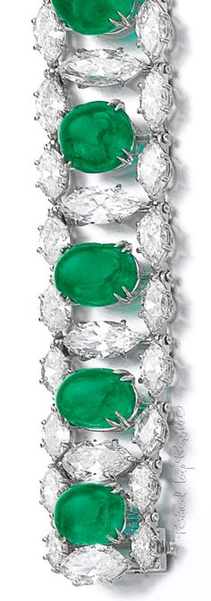Regilla ⚜ Emerald and diamond bracelet