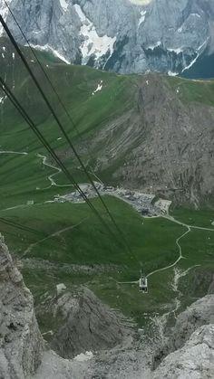 Passo Pordoi - Dolomites, province of Belluno, Veneto, Northern Italy