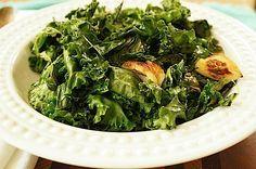 Best Sauteed Crispy Kale on Mom's Kitchen Handbook
