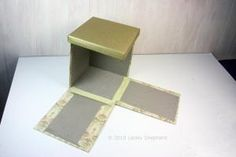 Quick Build Display Projects for Dollhouse Miniatures or Dioramas: Make a Simple Break Away Box To House a Scene