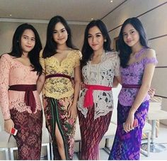 Ideas Fashion African Traditional Wedding Dresses For 2019 Kebaya Lace, Batik Kebaya, Kebaya Dress, Batik Dress, Kebaya Bali Modern, Model Kebaya Modern, Kebaya Modern Dress, African Traditional Wedding Dress, Myanmar Traditional Dress