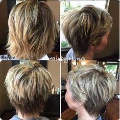 15. Short Shag Haircut