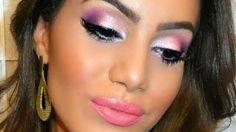 camila coelho maquiagem para olhos pequenos - YouTube