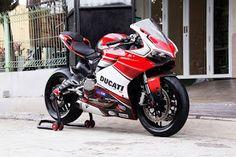 LAPAK MOGE Ducati Panigale 899 SBK 2016/14 ATPM Full Paper - BANDUNG