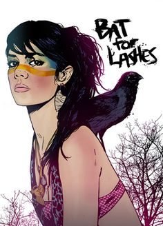 Bat for Lashes by Chris King