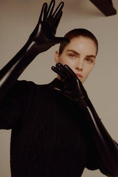 Hilary Rhoda photographed by Liam Warwick for Evening Standard