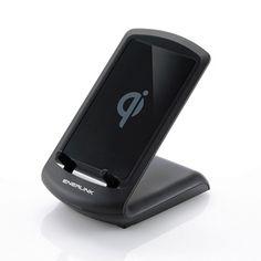 ワイヤレス充電スタンド サンワサプライWLC-STN11BK【楽天市場】
