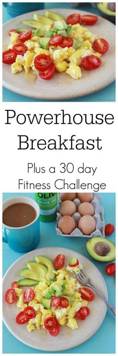 I love to have Nichole from Pure Clean Fitness come to hang out with us! This week Nichole's 30 day Challenge. A Healthy Recipe from me + Fitness Tips from Nichole= a Best Breakfast Recipes, Breakfast Dishes, Brunch Recipes, Sweets Recipes, Low Carb Recipes, Healthy Recipes, Eating Light, Paleo Life, Healthy Options