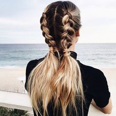 11 Ways to Wear Braided Pigtails That Don't Look Childish | Brit + Co