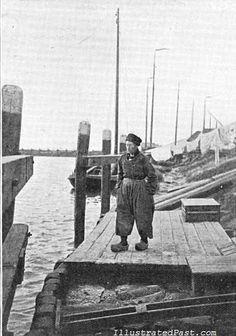 Fisherman Wearing Baggy Pants. Holland, 1906