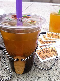 having a break with delicious lychee bubble tea Vienna, Promotion, Bubbles, Fresh, Street, Roads