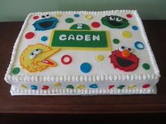 sesame+street+cakes | Posts related to Sesame Street Birthday Cake Toppers