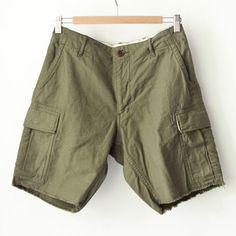Sanca サンカ / Satin monkey shorts : olive サテン モンキー ショーツ オリーブ