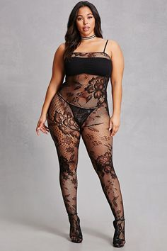 I like this outfit. Curvy Girl Lingerie, Curvy Women Fashion, Plus Size Lingerie, Sexy Lingerie, Sexy Outfits, Fashion Outfits, Cute Outfits, Plus Size Blog, Plus Size Swimsuits