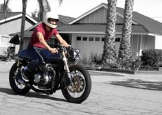 cafe racer clothing style - google search | bad mother rocker look