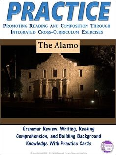 All-in-One resource! Isn't it time we taught grammar, reading skills, writing skills, and background knowledge together? This PRACTICE resource does just that! Grammar Skills, Vocabulary Practice, Grammar And Punctuation, Teaching Grammar, Teaching Reading, Teaching Tips, Reading Skills, Reading Resources, Middle School Reading