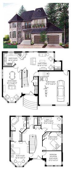 Shingle Style COOL House Plan ID: chp-39803 | Total Living Area ...