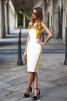 Made With Fashion | a fashion blog by Andrea Gomez: SPORT CHIC DRESS