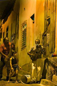 Music by night - Santiago de Cuba, Santiago de Cuba http://www.cuba-junky.com/santiago-de-cuba/santiago-de-cuba-city-home.htm