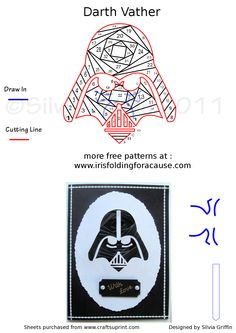 DARTH VATHER IRIS FOLDING