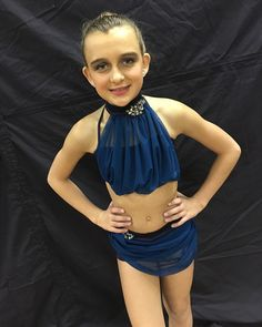 My solo costume I dance to Oceans by Hillsong