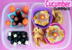 Bento Love: Cucumber Sammies - Family Fresh Meals