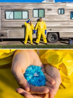 Breaking Bad Engagement Photos