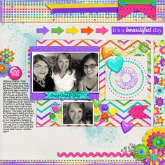 Bright Sunny Day by Cluster Queen Creations http://scraporchard.com/market/Bright-Sunny-Day-digital-scrapbook-mini-kit.html Fuss Free: The Best of Times by Fiddle-Dee-Dee Designs http://scraporchard.com/market/Fuss-Free-The-Best-of-Times-Digital-Scrapbook.html Fonts are KG Feeling 22 and Stamp
