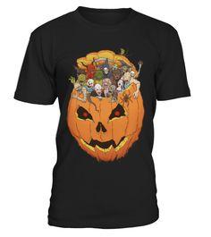 Halloween Monsters  Funny Halloween T-shirt, Best Halloween T-shirt