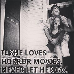 she loves horror movies Horror Movies Funny, Scary Movies, Horror Show, Horror Art, Films Quotes, Slasher Movies, Horror Icons, Best Horrors, Vintage Horror