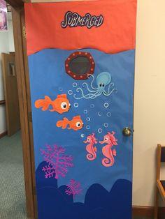 Submerged 2016 Classroom Door Lifeway VBS