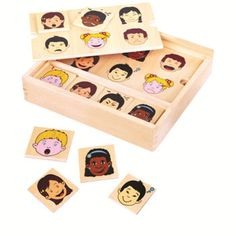Matching Expression Wooden Game By Fun Factory PuzzlesWooden ToysBehaviour ManagementAutistic