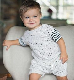 Best Indoor Garden Ideas for 2020 - Modern Toddler Boy Haircuts, Little Boy Haircuts, Toddler Boys, Little Boy Fashion, Baby Boy Fashion, Kids Fashion, Baby Boy First Haircut, Baby Boy Outfits, Kids Outfits