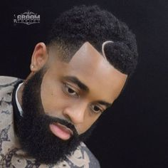 Where would we be if big beards and textured hair wasn't the trend ? By @haven_thegroomer on IG Found by @DJCwells