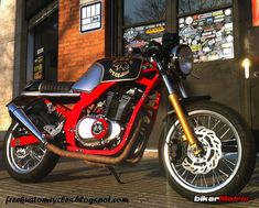 Today's bike is the first cafe racer project from Free Kustom Cycles, a Suzuki called 'NEPS Cycles'. Built for a customer Ruben, who Suzuki Cafe Racer, Gs500 Cafe Racer, Cafe Racers, Street Fighter Motorcycle, Cafe Racer Motorcycle, Motorcycle Gear, Vintage Bikes, Vintage Motorcycles, Custom Motorcycles