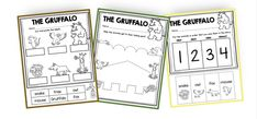 Sight Words Printables, The Gruffalo, Kindergarten Books, Curriculum Planning, Pre Writing, Book Themes, Used Books, Book Recommendations, Screen Shot