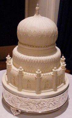 Taj Mahal cake